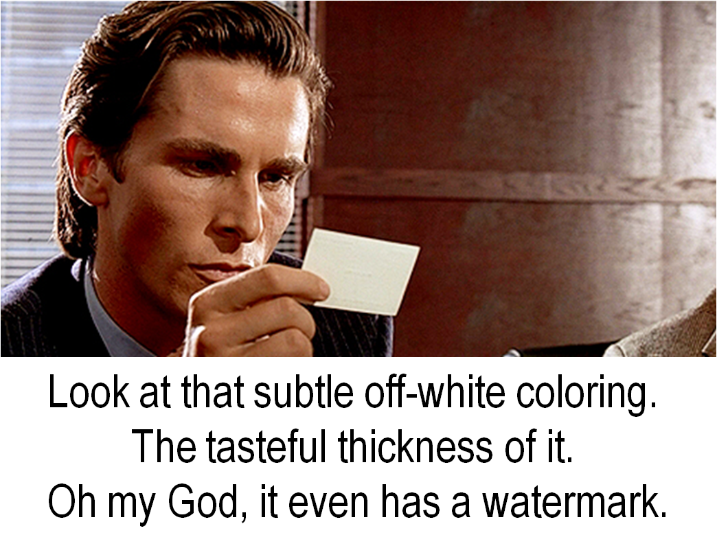 american-psycho business card