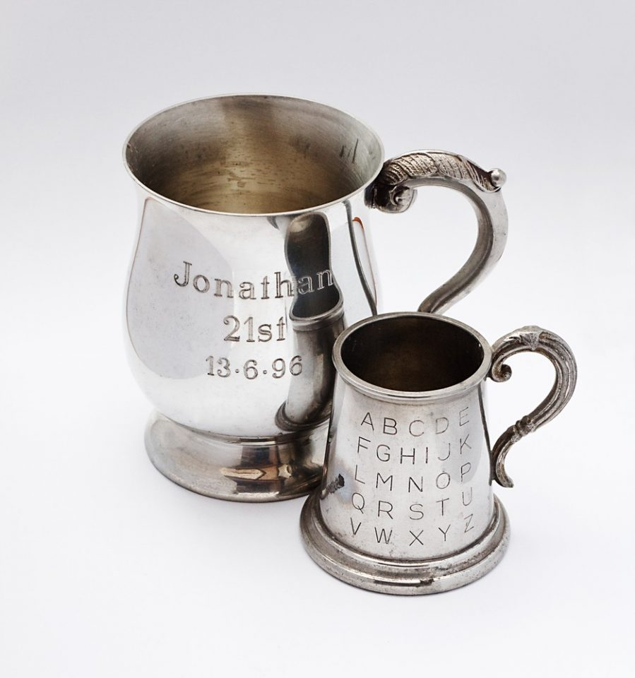 get a custom engraving for your tankard this christmas
