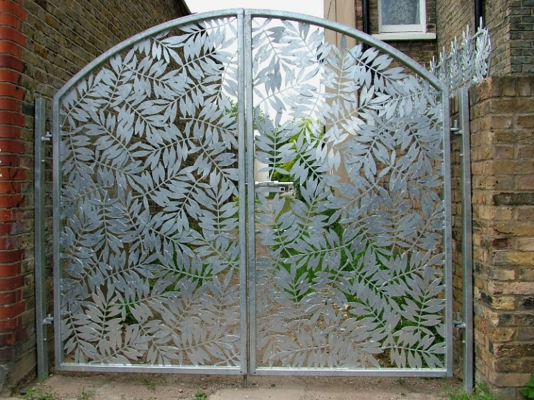 More Than A Fence Add Interest With A Laser Cut Garden