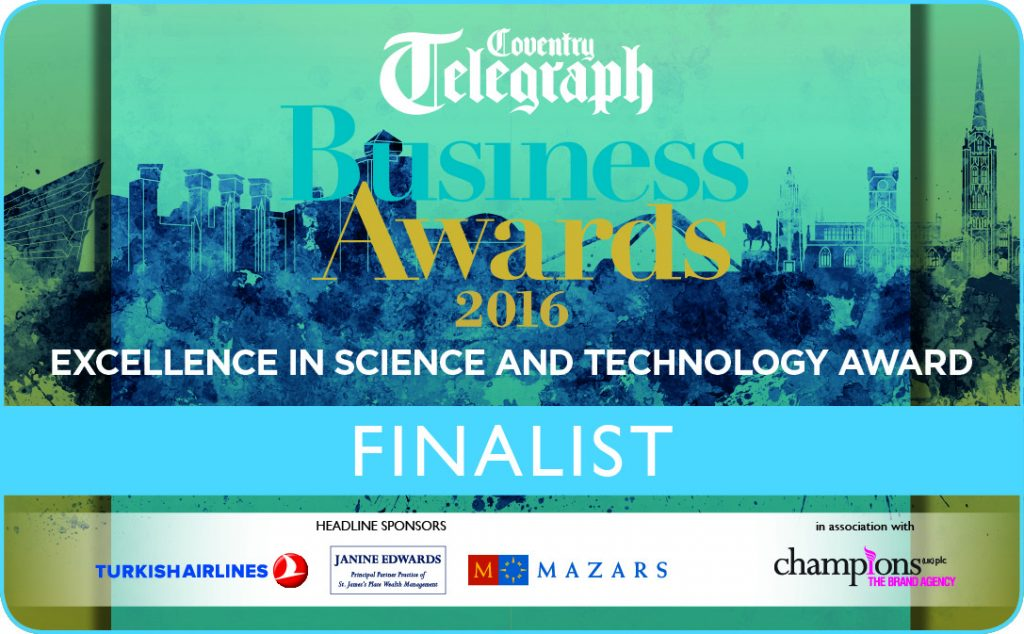 Picture of finalist nomination for science and technology award CTBA